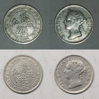 Hong Kong (China) Queen Victoria (1842-1901) 5 Cents 1895 KM# 5 - Hong Kong