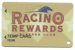 Evangeline Downs Racetrack & Casino, Opelousas, LA, U.S.A. Older Used Slot Or Players Card, # Evangeline-3 - Casino Cards