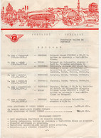 1976. YUGOSLAVIA,SERBIA,BELGRADE,LETTERHEAD,KSR,WAGON LITS COMPANY,PORTOROZ TRIP PACKAGE - Publicités