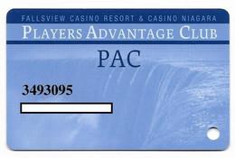 Fallsview Casino Resort, Ontario, Canada., Used Slot Or Player's Card, # Fallsview-2 - Casino Cards