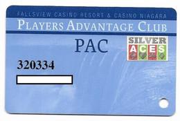 Fallsview Casino Resort, Ontario, Canada., Used Slot Or Player's Card, # Fallsview-2c - Casino Cards
