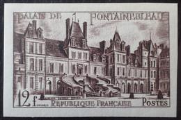 Dpe/17 - 1951 - PALAIS DE FONTAINEBLEAU - N°878a NON DENTELE NEUF** - Imperforates