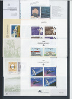 PORTUGAL (AZORES) LOT OF 8 DIFF S/S - BLOCK - MNH - Unclassified