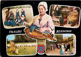 Folklore - Costumes - Folklore Berrichon - Multivues - Vielle - CPM - Voir Scans Recto-Verso - Costumes