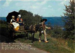 Folklore - Costumes - Morvan - Groupe Folklorique Les Galvachers Du Morvan - Anes - CPM - Voir Scans Recto-Verso - Costumes