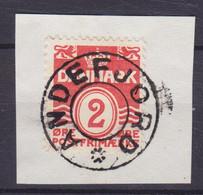 Vorläufer Faroe Islands Denmark Used Abroad Uds. Stjernestempel Star Cancel ANDEFJORD 1933 Mi. 196, 2 Øre Wellenlinien - Faroe Islands