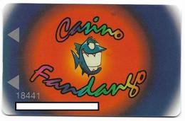 Fandango Casino, Carson City, NV,  U.S.A., Older Used Slot Or Player's Card, # Fandango-3 - Casino Cards