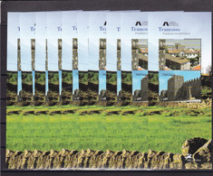 Portugal Nº 2930 Y 2942 En Hoja - 10 Hojas - Unused Stamps