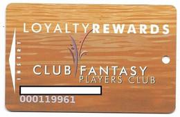 Fantasy Springs Casino, Indio, CA, U.S.A., Older Used Slot Or Player's Card, # Fantasysprings-1 - Casino Cards