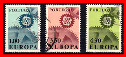 PORTUGAL EUROPA TIMBRES SERIE AÑO 1967 - Used Stamps