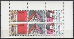 NIEDERLANDE Block 19, Postfrisch **, 30 Jahre Werbung Für Kinderbriefmarken Durch Die Schulen, 1978 - Bloques