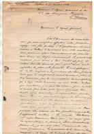 """Courrier à L'agent Général De La Compagnie Des Chargeurs Réunis Le Havre Du Vapeur """"Putt-Kamer"""" Dakar 18 Juillet 1920 - Boten"""