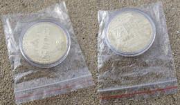 Monnaie Bitcoin Plaquée Or - Specimen