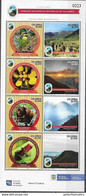 COLOMBIA, 2020, MNH,NATIONAL PARKS, BIRDS, FROGS, ORCHIDS, MONKEYS, MOUNTAINS, SHEETLET - Andere