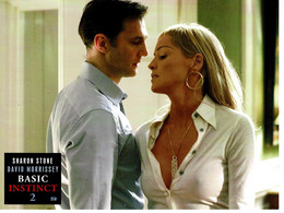 Affiche - Poster : Film Cinéma Basic Instinct 2 , Sharon Stone & David Morrissey. - Posters