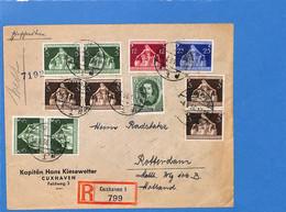 Allemagne Reich 1936 Lettre De Cuxhaven Aux Pays-Bas, Avec Censure  (G2254) - Covers & Documents