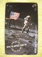 7310 Télécarte Collection HOMME SUR LA LUNE Premier Pas  ( Recto Verso)  Carte Téléphonique - Spazio