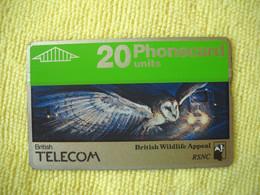 7311 Télécarte Collection OISEAU De NUIT CHOUETTE ( Recto Verso)  Carte Téléphonique - Gufi E Civette