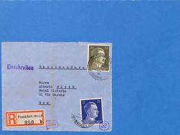 Allemagne Reich 1941 Lettre De Frankfurt Aux Italie, Avec Censure  (G2258) - Covers & Documents