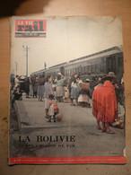Vie Du Rail 878 1963 Toulouse Meusien Bolivie Potosi La Paz Coroico Sucre Ouaqui Tunnel Sous La Manche Gabin Loren - Trains