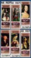 2106.2121 Yemen 1969 Paintings From Prado 6 Val MNH Dürer, Raffael, Albrecht, Van Dijck. Botticelli - Other
