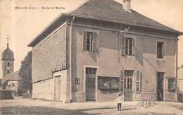 Molain école Mairie éd CLB Canton Poligny - Altri Comuni