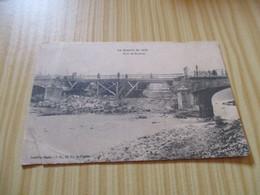 CPA La Guerre De 1914  - Pont De Baccarat (54). - Baccarat