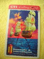7315 Télécarte Collection Bateau , Cabine Téléphone  ( Recto Verso)  Carte Téléphonique - Barche
