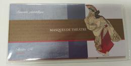 FRANCE 2013 BS83/88 * * BLOC LES MASQUES DE THEATRE SOUS BLISTER D ORIGINE - Souvenir Blocks & Sheetlets