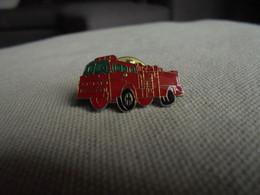 Vintage - PIN'S De Collection Camion De Pompiers - Pompieri