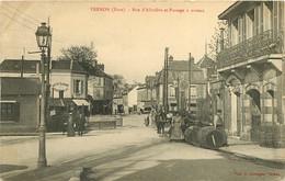 210621B - 27 VERNON Rue D'Albuféra Et Passage à Niveau - Tabac Ancienne Maison LABBE - Vins Eau De Vie Tonneau Liqueur - Vernon