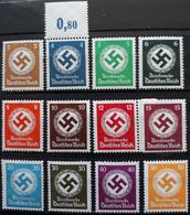 DR Mi. 132/43, Postfrisch/MNH, Wz4 (1819) - Dienstzegels