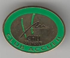 Pin's CHU Grenoble Club Accueil - Amministrazioni