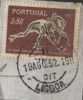 Timbre Portugal Belle Obliteration Lisboa - Used Stamps