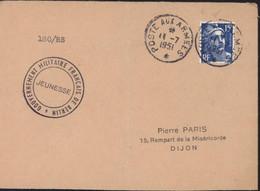 Après Guerre 39 45 Occupation Française En Allemagne Cachet Gouvernement Militaire Français De Berlin Jeunesse YT 886 - Franse Zone