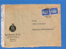 Allemagne Reich 1941 Lettre De Bochum à La Belgique, Avec Censure   (G2295) - Storia Postale