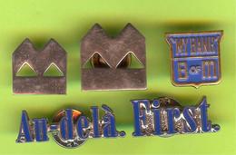 5 Pins BMO Bank Of Montreal /Banque De Montréal - #198 - Banche