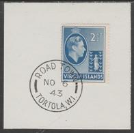 British Virgin Islands 1938-47 KG6 Badge Of Colony 2.5d Ultramarine With Madame Joseph Forged Postmark Type 434 - British Virgin Islands