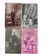 """Lot De 8 Cartes Et Photos """"Enfants"""". - Verzamelingen & Reeksen"""
