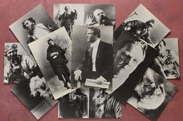Feodor CHALIAPIN. Set 11 Vintage Russian Photo Postcards. Russian OPERA Singer Bass - Shaliapin. Russian Theater Opera S - Opera