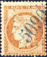 France - Yv.38 40c Siège Obl. GC 5090 De KERASSUNDE (Turquie) - (1 Dent Réparée) - 1849-1876: Classic Period