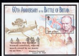 Turks & Caicos  2000   WWII , Battle Of Britain  ,Winston Churchill - Turks- En Caicoseilanden