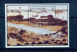 Turks & Caicos  1994  WWII , D-Day , World War II, MS - Turks- En Caicoseilanden