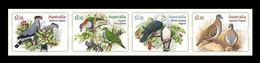 Australia 2021 Mih. 5307/10 Fauna. Birds. Doves And Pigeons (self-adhesive) MNH ** - Ungebraucht