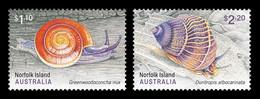 Norfolk Island 2021 Mih. 1301/02 Fauna.Land Snails MNH ** - Norfolk Eiland