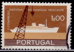 Portugal, 1958, Trade Marine Congress,1e, SW#859, Used - Used Stamps