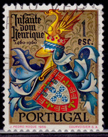 Portugal, 1960, 500th Anniversary Of Heinrich The Sailor, 1e, SW#881, Used - Used Stamps