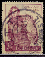 Portugal, 1951, 3rd Fishing Congress, 1e, SW#750, Used - Used Stamps