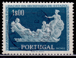Portugal, 1954, 150th Anniversary Of Ministry Of Finance, 1e, SW#812, Used - Used Stamps
