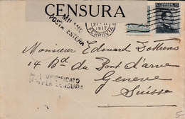 Lettre D'Italie, Avec Censure - 15 X 9,5 Cms. - Zonder Classificatie